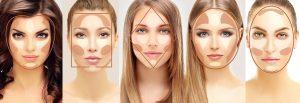 morphologie visage contouring