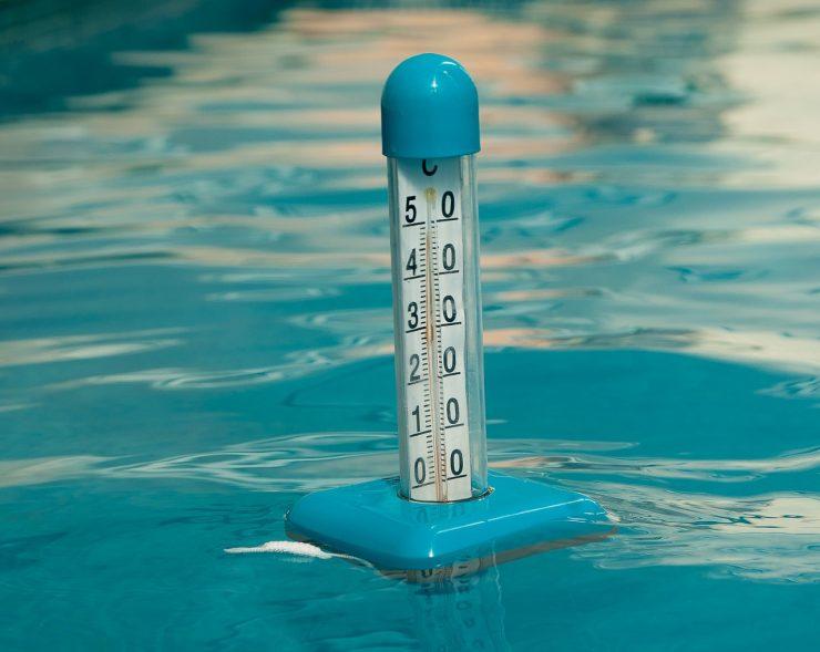 température piscine